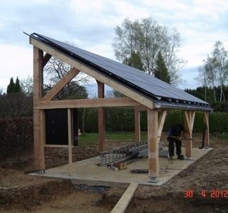 Toiture Rousseaux -  Carport solaire