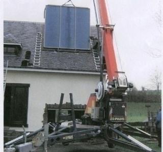 Toiture Rousseaux -  Energie Solaire thermique