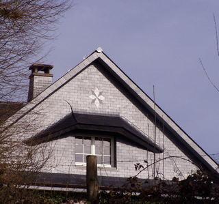Toiture Rousseaux -  Bardage et motif décoratif